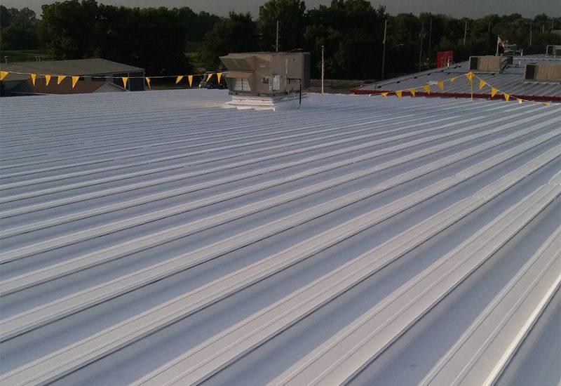 Industrial Metal Roof