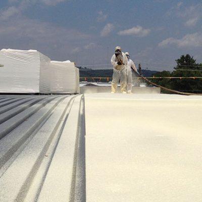 SPF Spray Foam Roofing