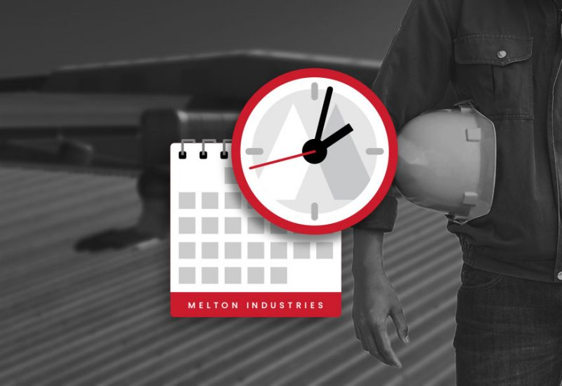 melton-industries-on-time-appointment-calendar-clock